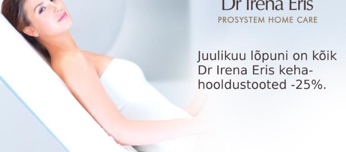 62e3b1cc115 Juulikuu lõpuni Dr Irena Eris kehahooldustooted soodsamalt